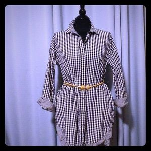 Zara shirt dress/tunic